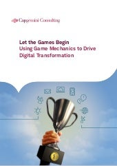Using game mechanics to drive your ...