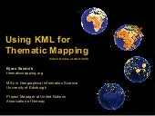 Thematic mapping at AGU 2008
