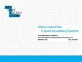 Using lucene solr to build advertising systems