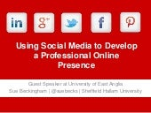 Using social media to develop a pro...