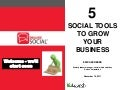 Using social media to grow your business webinar