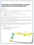 Using the Kanban (Board) for a retrospective meeting and follow-up