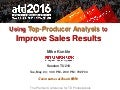 Using Top-Producer Analysis to Improve Sales Results