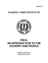 Us marine corps   iraq-an introduct...