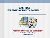 Uso did�ctico de Internet
