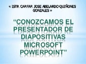 uso de power point