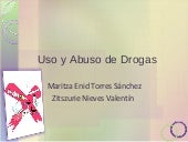 Uso Y Abuso De Droga2s End.Ppt2