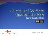 University of Southern Queensland (...