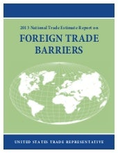 USTR Report on Foreign Trade Barrie...