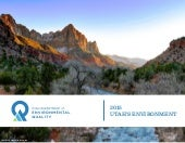 Utah DEQ State of the Environment 2015