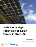 Utah has a High Potential for Solar Power in the U.S.