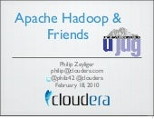 Apache Hadoop & Friends at Utah Jav...