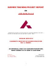 "Uti bank to axis bank"" a study in c..."