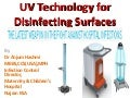 UV technology for disinfecting surfaces