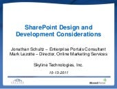 SharePoint Design & Development