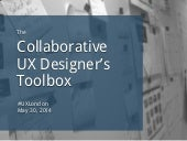 The Collaborative UX Designer's Toolbox