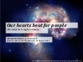 Our hearts beat for people: UX research in agile contexts.
