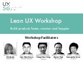Lean UX Workshop
