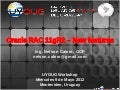 UYOUG 2012 - Oracle RAC 11gR2 - New features