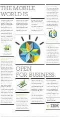IBM MobileFirst: The mobile world is open for business.