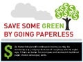 [Infographic] Save Money, Go Paperless