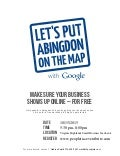Get your Business on the Map with Google and People Inc