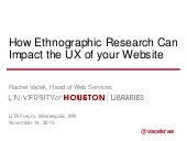 Contextual Inquiry: How Ethnographic Research can Impact the UX of Your Website