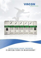 VACON 8000 Solar Inverter