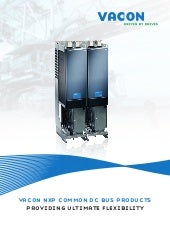 Vacon NXP Common DC Bus products