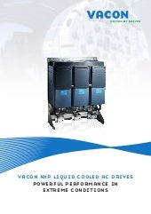 Vacon NXP Liquid Cooled