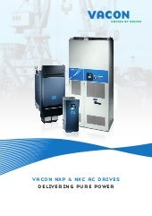 Vacon NXP & NXC AC Drives