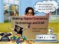 Digital Decisions: Technology and Developmentally Appropriate Practice for VAEYC, 2013