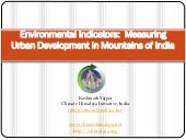 Environmental Indicators: Measuring...