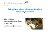 Telecollaboration and University Internationalisation