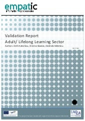 Validation Report - Adult Education...