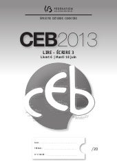 éValuation certificative ceb - 20...