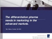 The differentiation pharma needs in...