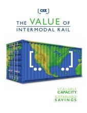 Value of Intermodal Rail