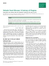 Valvular Heart Disease A Century Of...