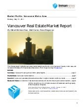 Vancouver real estate market report...