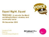 Vandna gohi equal right equal voice...