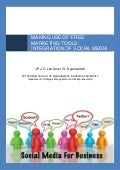 Van Dorst & Syamsuddin - 2011 - Making Use of Free Marketing Tools: Integration of Social Media