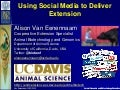 Using Social Media to Deliver Extension