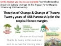 Theories of change and change of theories: Twenty years of ASB Partnership
