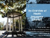 An Overview of Health Insurance Lit...