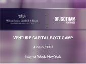 VC Bootcamp By DFJ Gotham Ventures ...