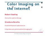 Color Imaging on the Internet