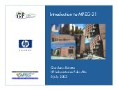 Introduction to MPEG21