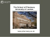 School Of Pharmacy, University of L...