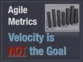 Velocity is not the goal   code palo-usa